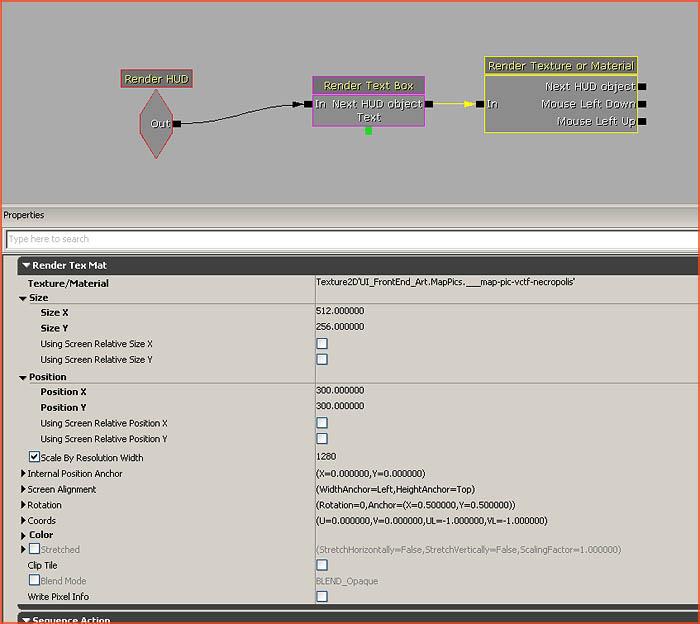 Hourences com – Tutorials – UE3 Kismet Interface